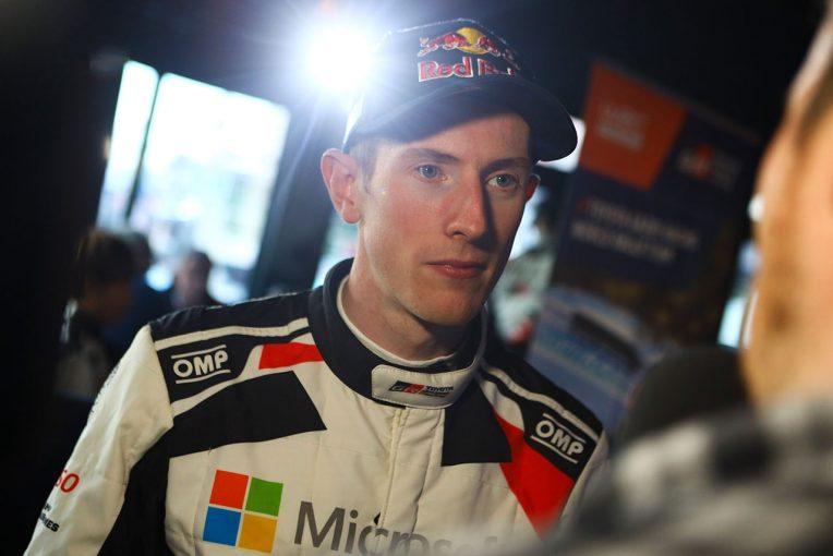 ラリー/WRC | WRC:トヨタ、競技2日目の6SS中5SSで最速。3SS制したエバンスには「みんなが驚いたと思う」とマキネン