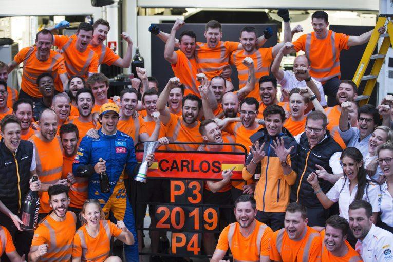 F1 | ノリス、サインツJr.との友好的な関係がマクラーレンF1の長期的な目標達成に有益だと主張