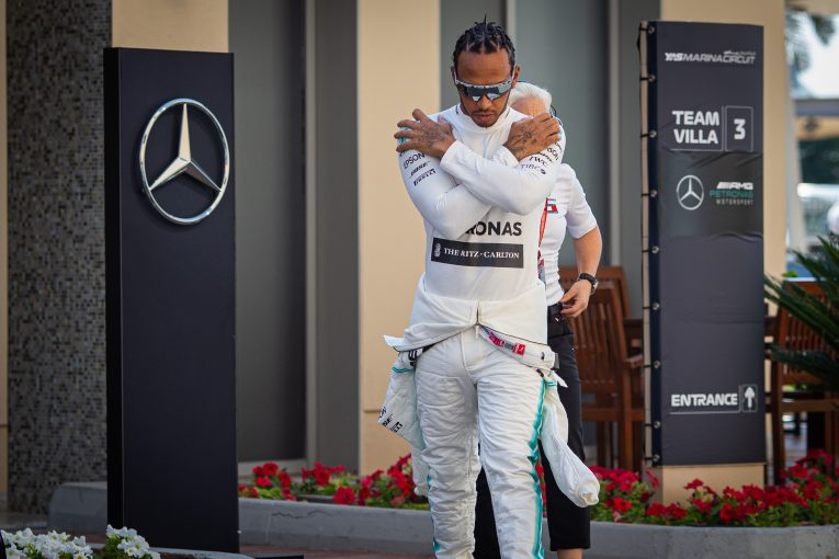 F1   ハミルトン、将来的に体力が衰えることを認識するも現状では「最高の状態」としてさらなる改善を目指す