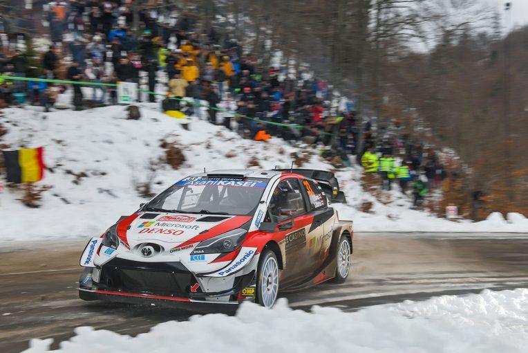 ラリー/WRC | WRCモンテカルロ:競技3日目はトヨタの2台が一進一退の攻防。エバンスが4.9秒リードで最終日へ