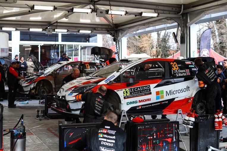 ラリー/WRC | WRC:トヨタ、モンテカルロ3日目に陣営内で首位争い。「我々のドライバーが優勝を争う状況はとてもエキサイティング」