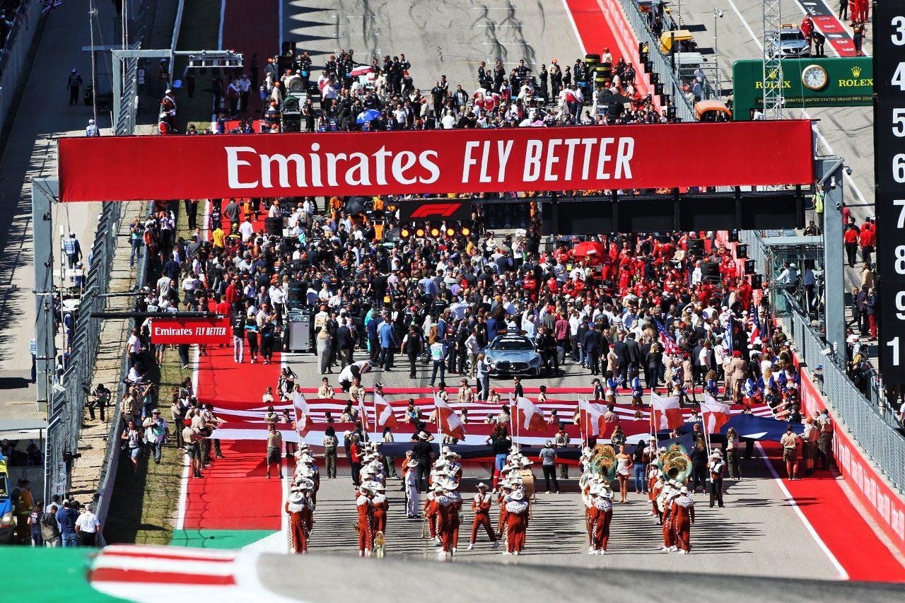 2019年F1アメリカGPグリッド
