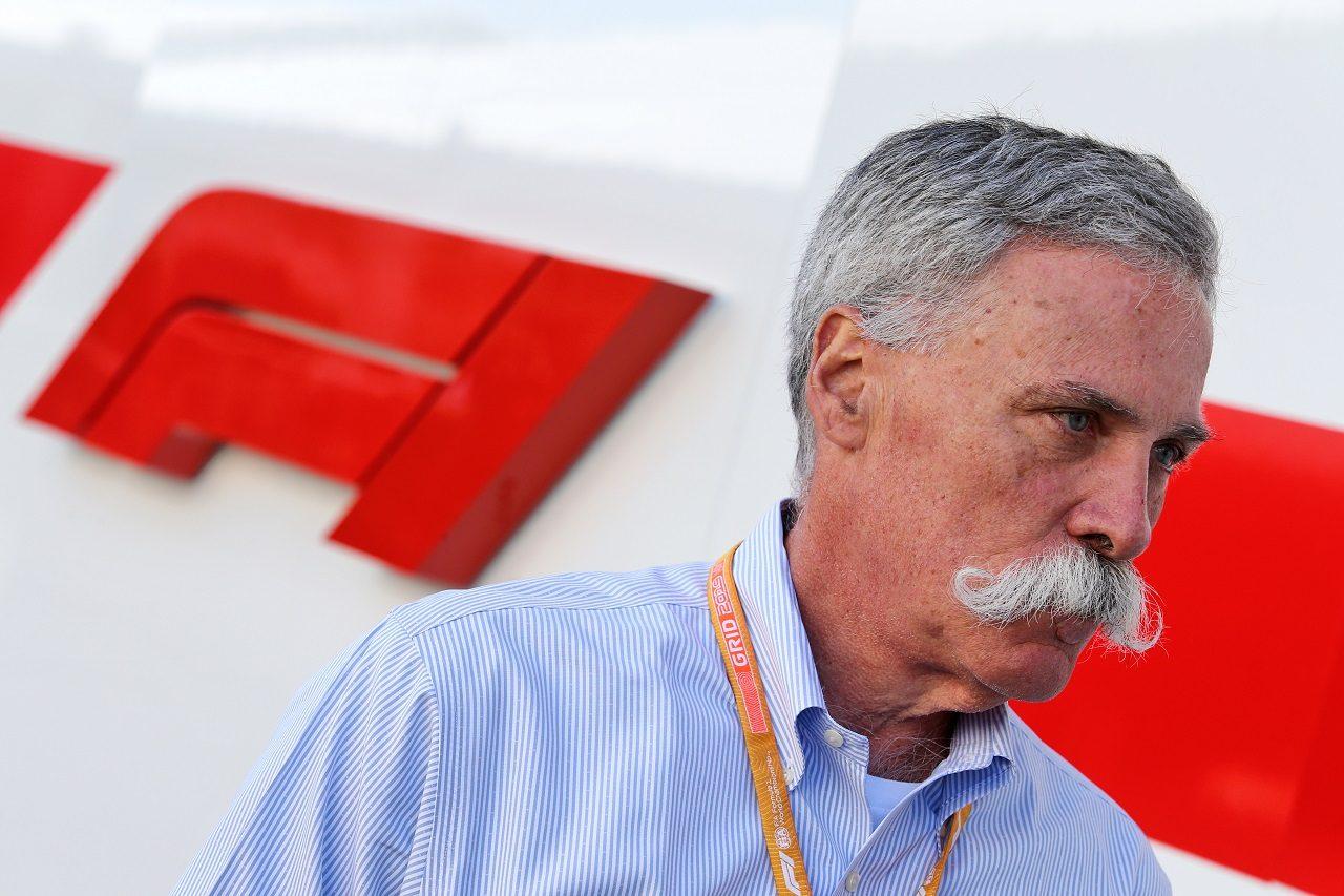 F1のCEOチェイス・キャリー