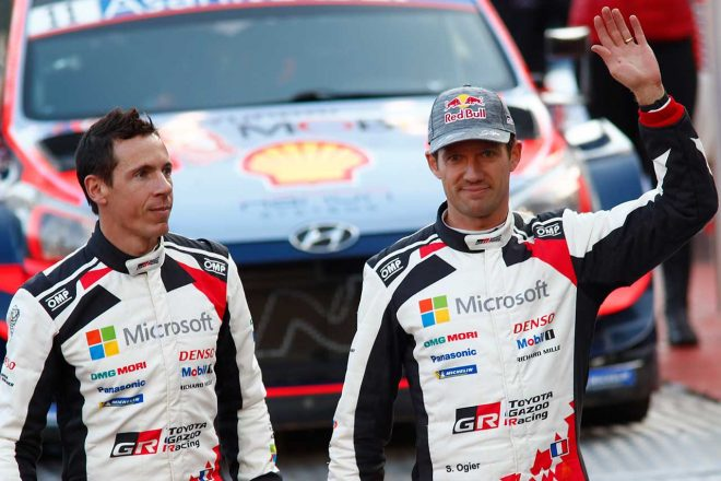 ラリー/WRC | WRC:豊田チーム総代表、モンテカルロ連勝止まったオジエに「地元勝利をヤリスで止めてしまったこと、申し訳ない気持ち」