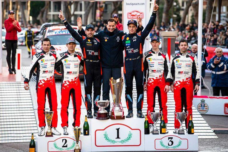 ラリー/WRC | 【ポイントランキング】2020WRC第1戦モンテカルロ終了時点