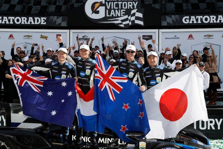 ル・マン/WEC   「24時間全力でプッシュ」小林可夢偉、デイトナ2年連続優勝はチームワークのおかげ