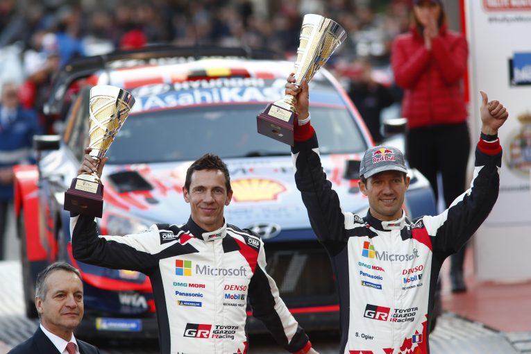ラリー/WRC | 総合2位に終わったオジエ「もう少し時間が経てば、一緒に素晴らしい結果を掴むことができるはず」/2020WRC第1戦モンテカルロ デイ4後コメント