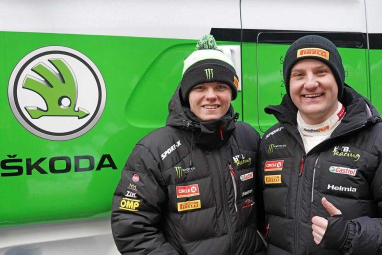 ラリー/WRC   WRC:シュコダ、ペター・ソルベルグの息子オリバーと協力。ラリー・スウェーデンで共同作業開始