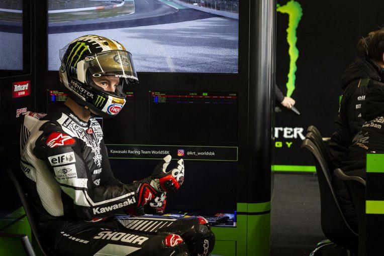 MotoGP | SBK:カワサキがカタルーニャでプライベートテスト実施「ここでもバイクはうまく機能する」と初走行のレイ