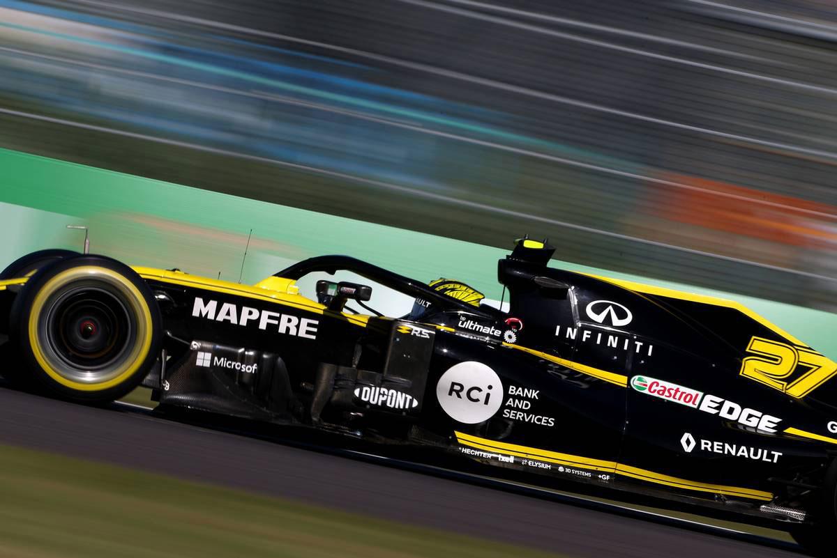 2019年F1第17戦日本GP ニコ・ヒュルケンベルグ(ルノー)