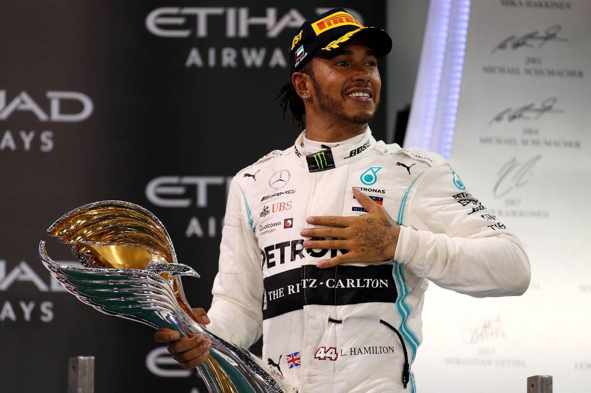 2019年F1最終戦アブダビGP ルイス・ハミルトン(メルセデス)