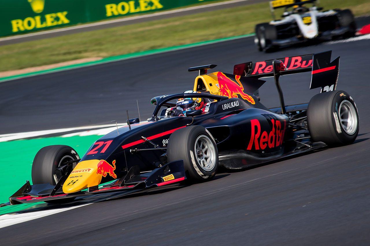 2019年FIA-F3第4戦シルバーストン ユーリ・ビップス(ハイテックGP)