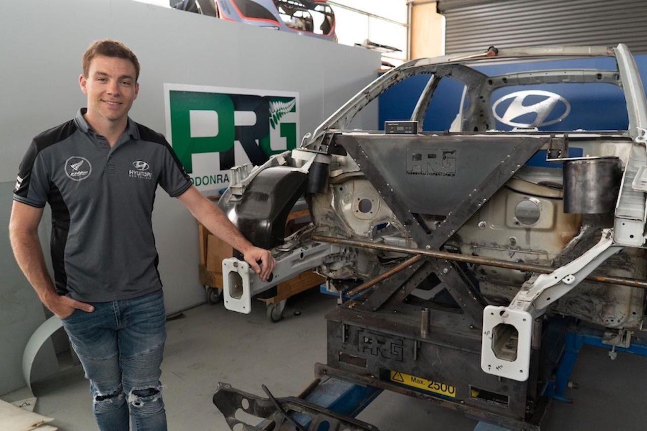 ヘイデン・パッドン、ヒュンダイ・ベースの独自開発EVラリーカー・プロジェクトは「完成間近」