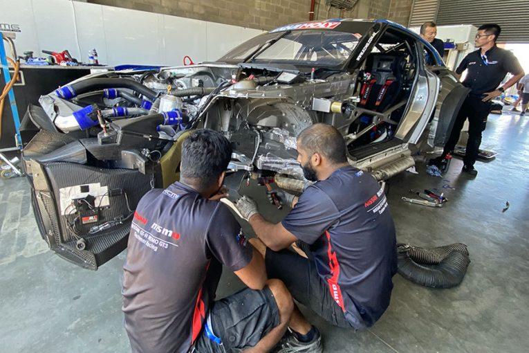 ル・マン/WEC | バサースト12時間:KCMG、千代・松田組GT-Rのリタイアを決断。損傷激しく修復困難