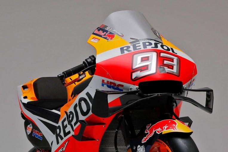 """MotoGP   """"マルケス・スペシャル""""と呼ばれた19年型。2020年は「トータル戦闘力向上」/ホンダRC213V開発の裏側【後編】"""