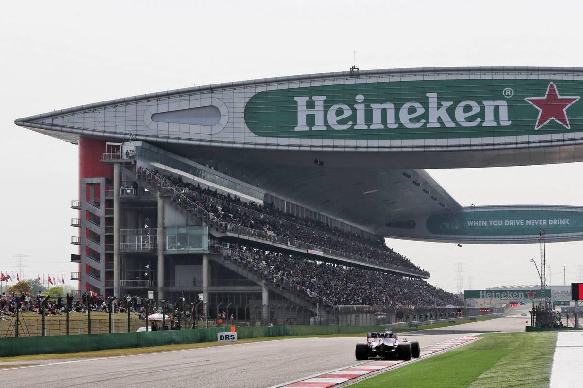 2019年F1第3戦中国GP セルジオ・ペレス(レーシングポイント)