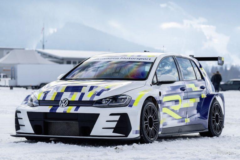 海外レース他 | フォルクスワーゲン、将来の高性能EVを示唆する『エレクトリック・ゴルフRコンセプト』公開