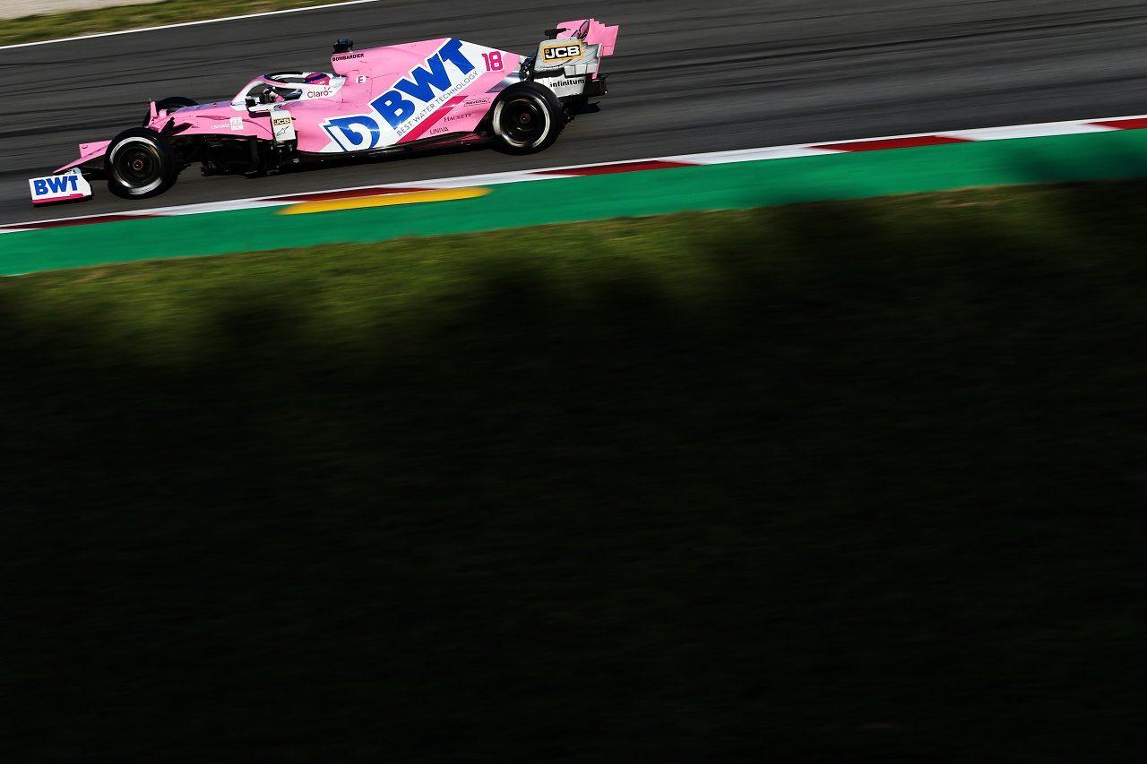 2020年F1プレシーズンテスト ランス・ストロール(レーシングポイント)