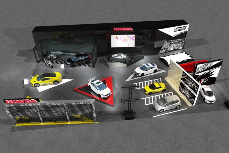 クルマ | ホンダ、2月14~16日の大阪オートメッセに出展。新型シビックやNSX-GTを展示