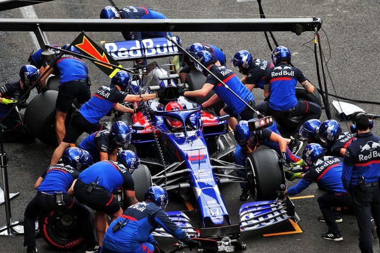 F1   「22レースはもはや限界」トロロッソ・ホンダF1代表、スタッフをローテーションで起用する可能性も