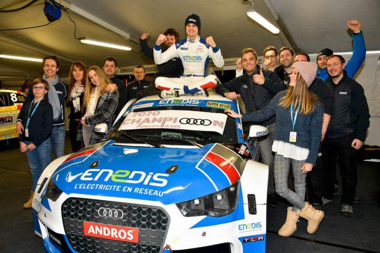 """ラリー/WRC   アンドロス・e-トロフィー最終戦:WRCの""""レジェンド""""ローブ撃破したオーレリアン・パニスがEV時代の初王者に"""