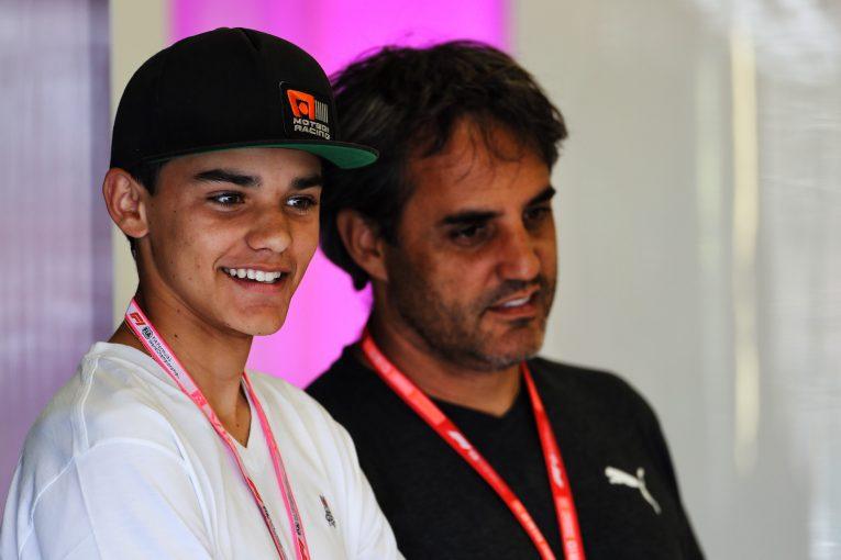 F1   元F1ドライバーのモントーヤの息子、セバスチャンがプレマからF4デビュー