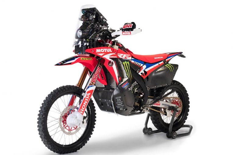 MotoGP   【ギャラリー】Honda CRF450 RALLY/ダカールラリー 2020優勝マシン