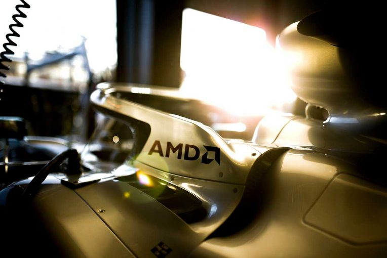 F1 | メルセデスF1、半導体大手AMDと複数年パートナーシップ結ぶ。高性能CPU『Ryzen』搭載PCなどを活用