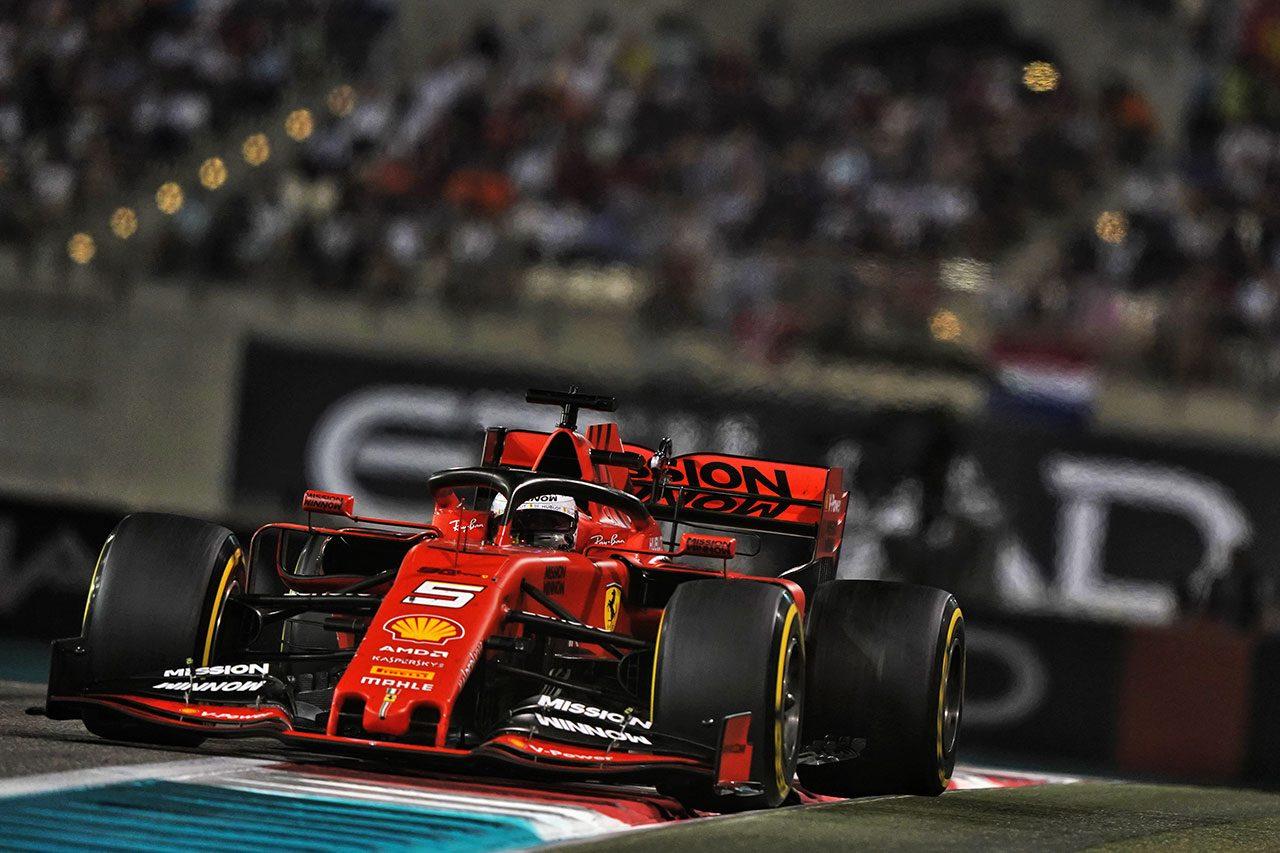 2019年F1最終戦アブダビGP セバスチャン・ベッテル(フェラーリ)