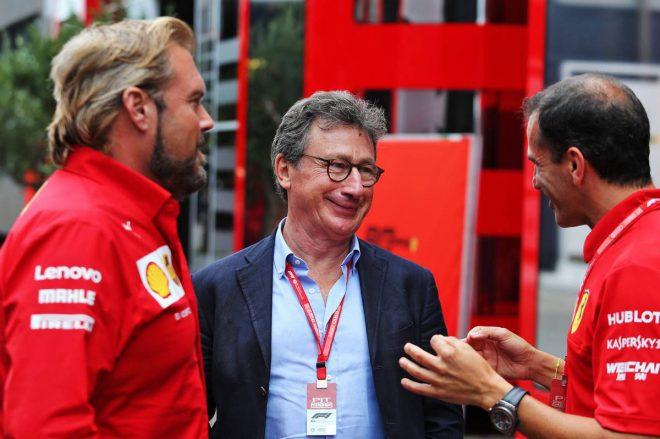 2019年F1第11戦ドイツGP ルイ・カミッレーリ(フェラーリCEO)