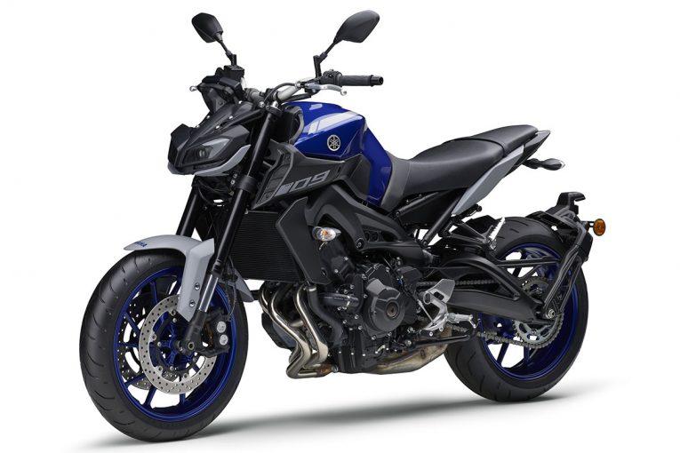 MotoGP | ヤマハ、スポーツバイク『MT-09 ABS』の新カラーを発売。ブルーとマットグレーを組み合わせ、スポーティなイメージを強化