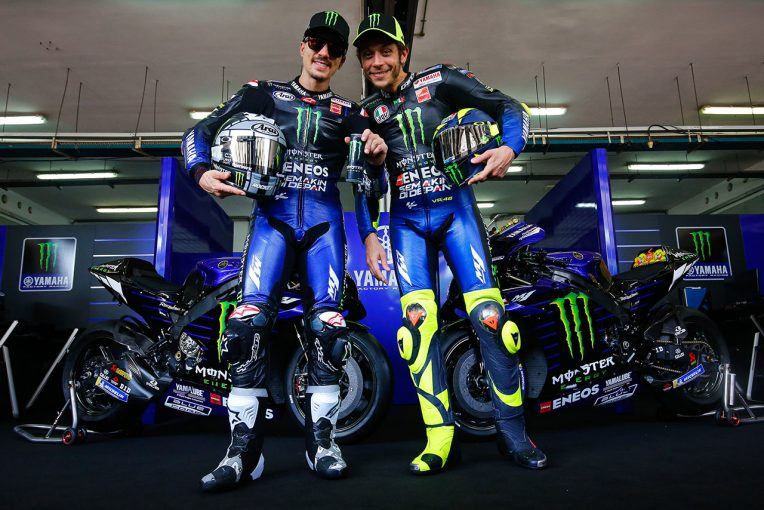 MotoGP | MotoGP:モンスターエナジー・ヤマハが20年型YZR-M1をお披露目。ロッシ、ビニャーレスの布陣はラストイヤー