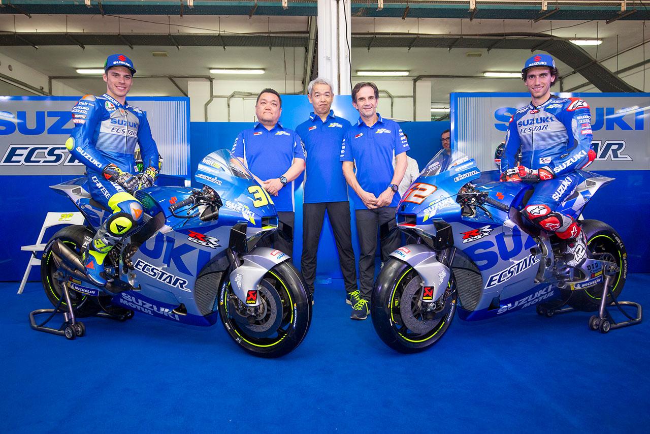 MotoGP   チーム・スズキ・エクスター 2020年