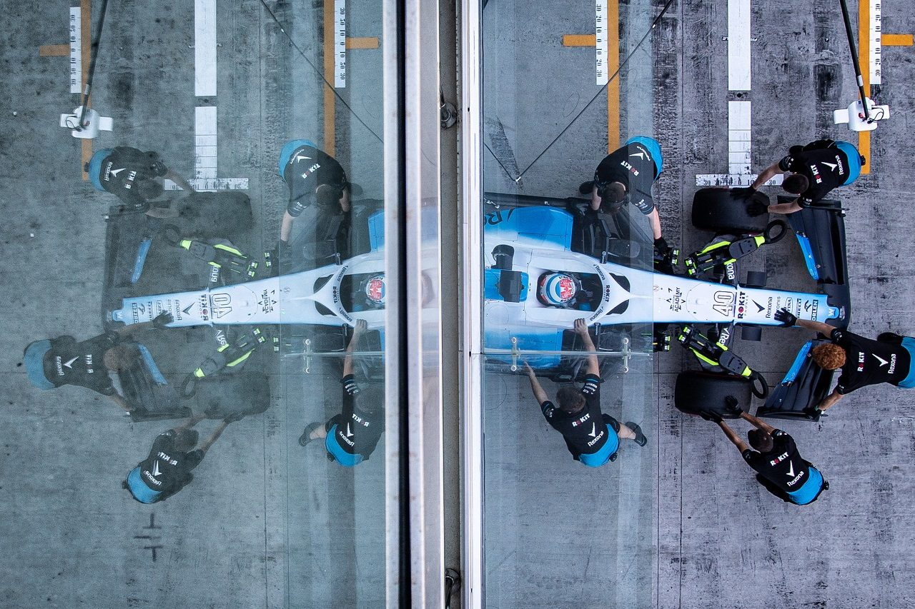 2019年F1アブダビテスト ニコラス・ラティフィ(ウイリアムズ)