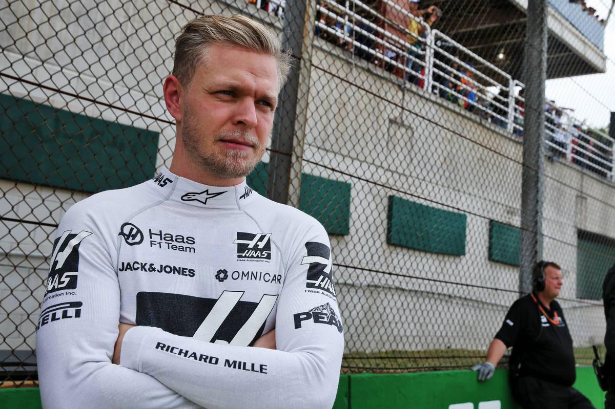 2019年F1第20戦ブラジルGP ケビン・マグヌッセン(ハース)