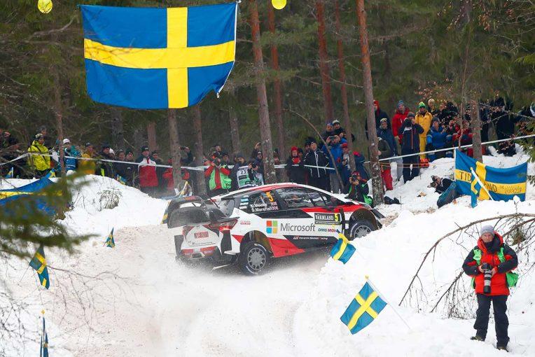 ラリー/WRC | WRC:トヨタ、過去3年で2勝のラリー・スウェーデンで2020年初優勝なるか。最多5台のヤリスWRCが走行