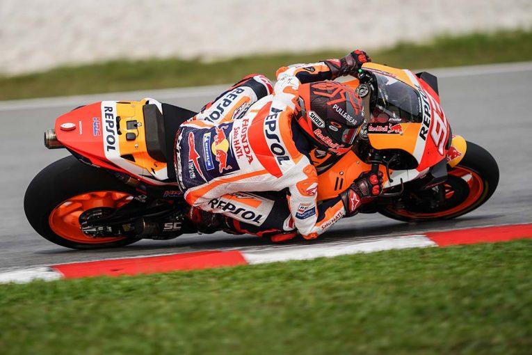MotoGP | MotoGP:マルク・マルケス「クラッシュは大丈夫。明日はさらに周回を重ねる」/セパンテスト2日目コメント
