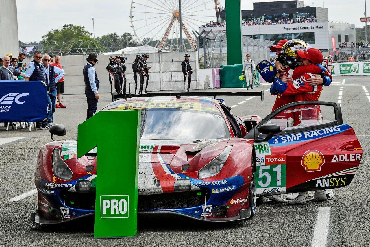 WEC:フェラーリ、ル・マンとセブリングの体制発表。バード、セラが助っ人参戦へ