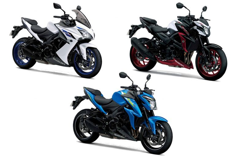 MotoGP   スズキ、ロードスポーツバイク『GSX-S』シリーズ3車種のカラーリングを変更し2月20日より発売