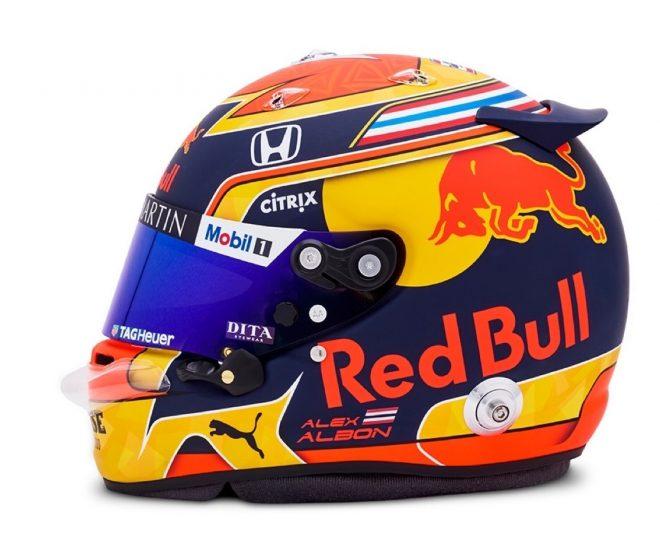 F1 | アレクサンダー・アルボン(Alexander Albon) 2020年のヘルメット1