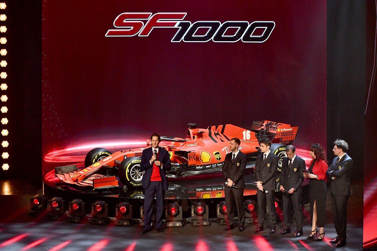 2020年フェラーリF1『SF1000』発表会