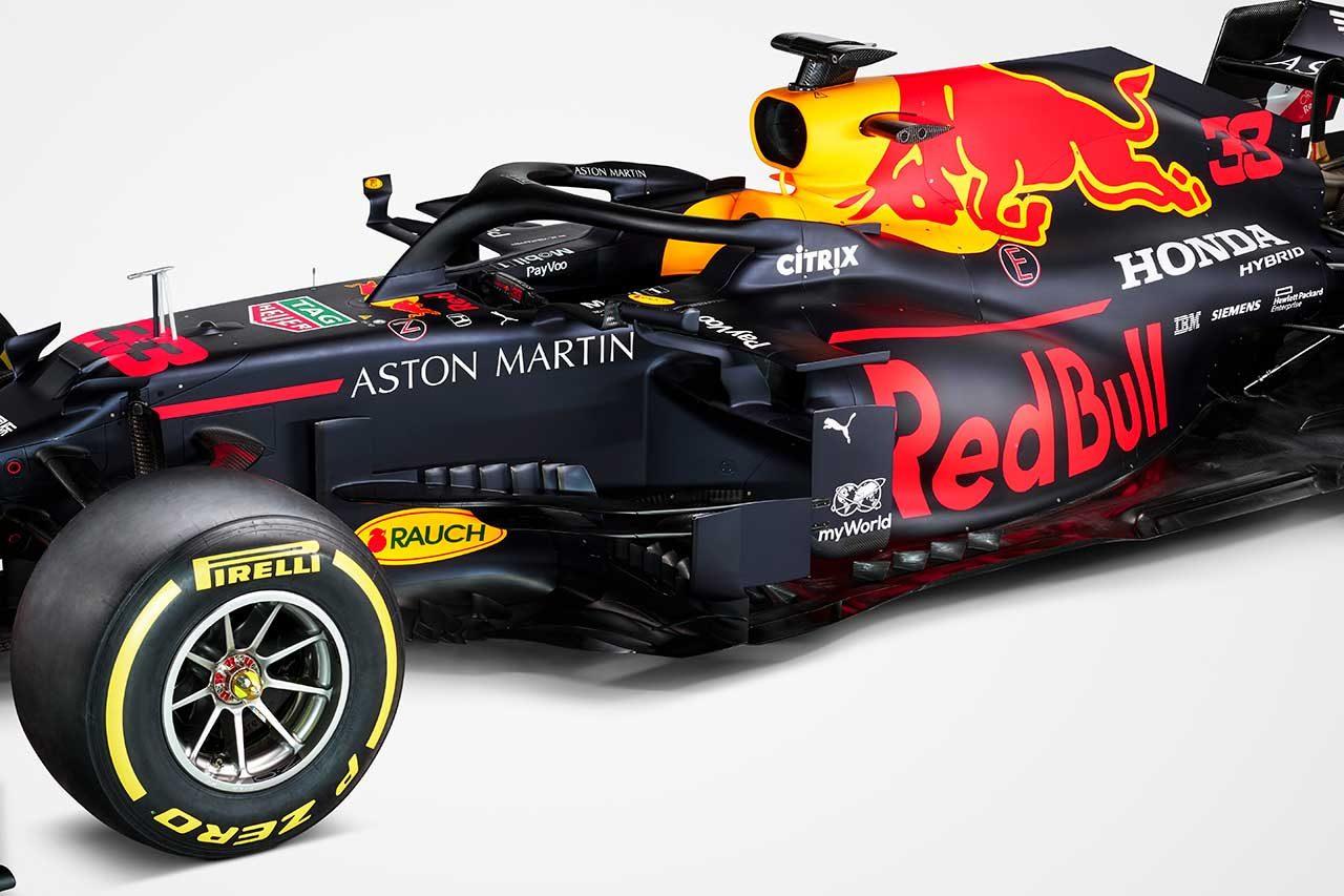 アストンマーティン・レッドブル・レーシングの2020年型マシン『RB16』