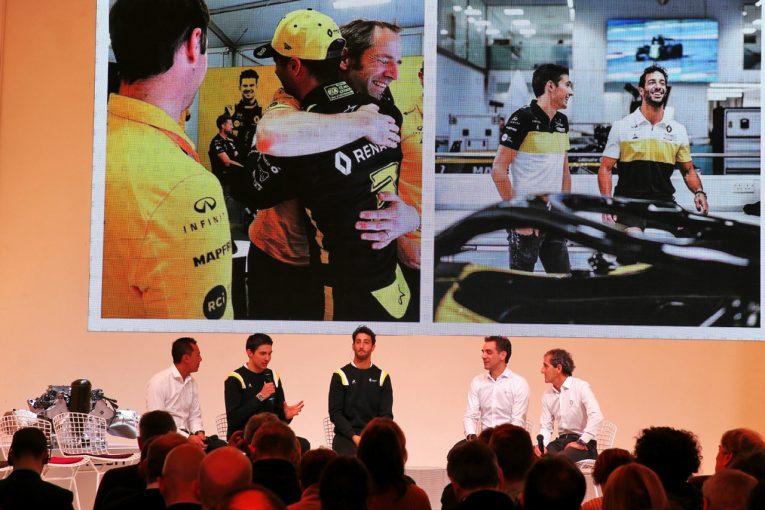 F1 | ルノーF1首脳「2020年の目標はランキング4位奪還」F1への長期参戦の意向も示す