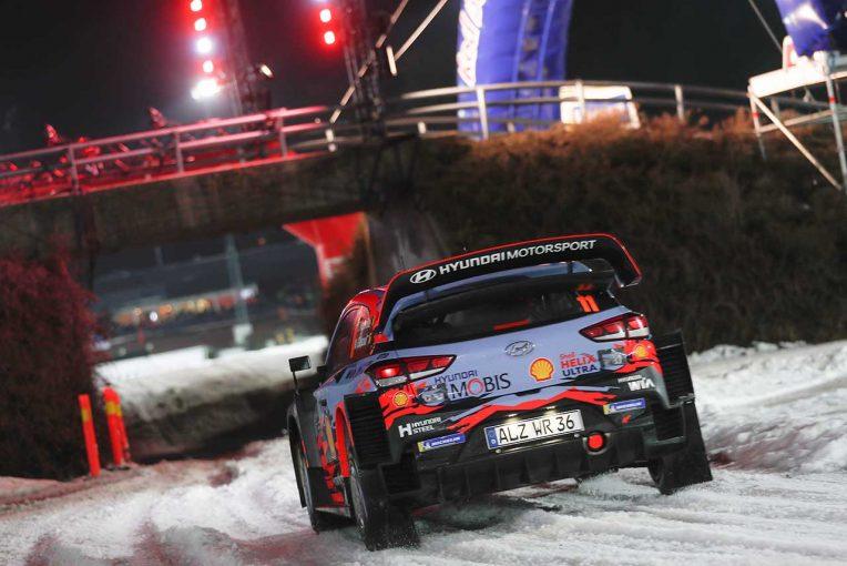 ラリー/WRC   WRC:第2戦スウェーデンのスケジュール再変更でSS1は競技区間から除外。暖冬の影響厳しく