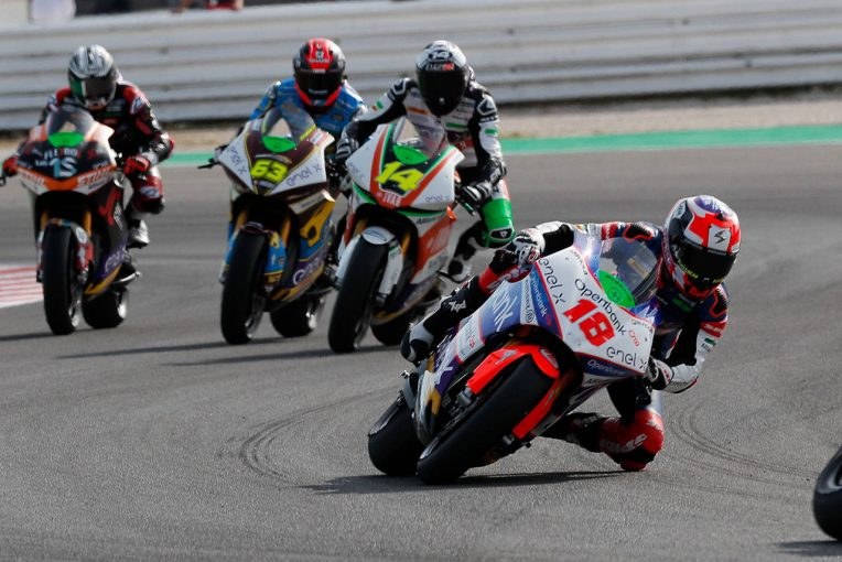 MotoGP | 電動バイクMotoE、2020年エントリーリストが更新。アスパーチームはライダー変更