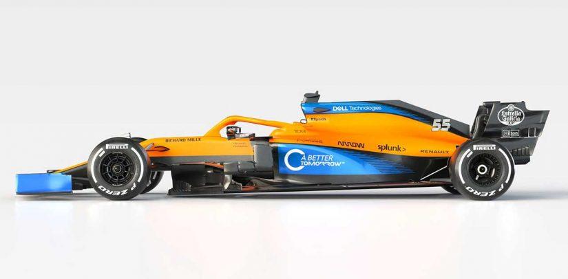 F1   【ギャラリー】2020年型マクラーレンF1マシン『MCL35』