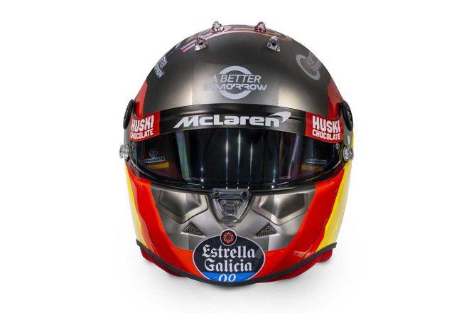 F1 | カルロス・サインツJr.(Carlos Sainz Jr.) 2020年のヘルメット2