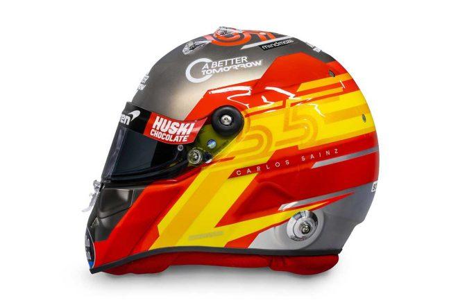 F1 | カルロス・サインツJr.(Carlos Sainz) 2020年のヘルメット1