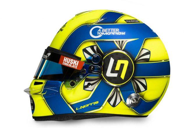 F1 | ランド・ノリス(Lando Norris) 2020年のヘルメット1