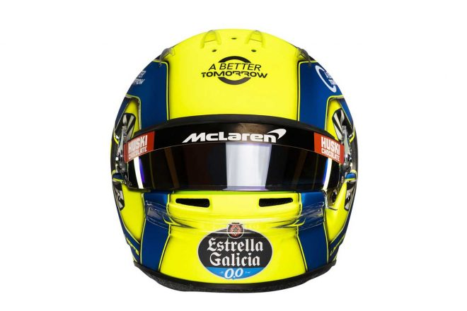 F1 | ランド・ノリス(Lando Norris) 2020年のヘルメット2
